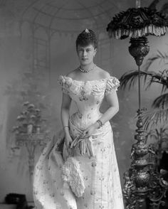 Prince Albert Victor's fiancé was Princess Mary of Teck. She wed Prince George when Albert Victor died in 1892.