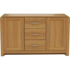 Buy Heart of House Elford 2 Door 3 Dwr Sideboard - Oak Effect at Argos.co.uk - Your Online Shop for Sideboards and chest of drawers.