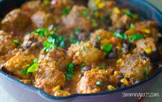 Southwestern Turkey Meatballs | Slimming Eats - Slimming World Recipes