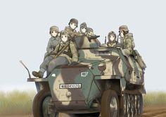Grossdeutschland in East by Maridjan-kirisame on DeviantArt Anime Military, Military Girl, Manga Art, Manga Anime, Anime Art, Guerra Anime, Mexican Army, Anime Weapons, Girls Frontline