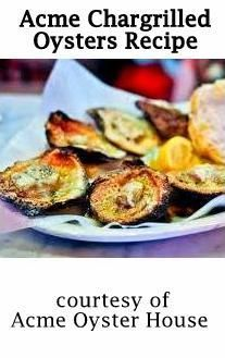 Acme Oyster House Chargrilled Oysters Recipe : louisiana.kitchenandculture  #NOLA