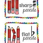 Sharp Pencils / Flat Pencils Sign