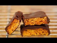 Homemade Honeycomb & Cadbury Crunchie Bars - Gemma's Bigger Bolder Baking