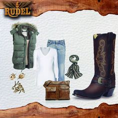 El #outfit del día se ve mucho mejor con #Rudel ¿a poco no? #EstiloRudel #Dama #outfitscasuales