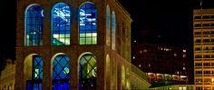 """Museo del Novecento Sala Fontana """"Opera di Luce"""" al neon di Lucio Fontana  realizzazione e installazione by CLOD"""