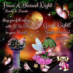 God's angels will keep thee in perfect Peace while we sleep :)