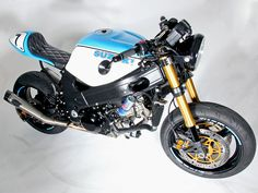 After Nick O'Kane completed his 2002 Suzuki TL1000R Café racer he entered the J&P Cycles Ultimate Builder Custom Bike Show at the 2014 Progressive International Motorcycle Show.
