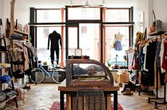 Raised by Wolves boutique in Greenpoint, Brooklyn; Casey Kelbaugh for the New York Times