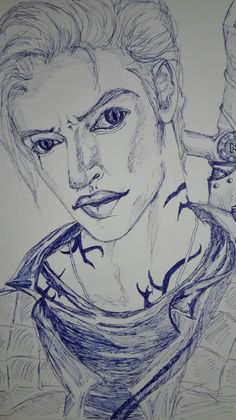 #fanarty#my own Jonathan#J. C. Morgenstern#my drawing