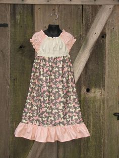 Childrens Clothing  Spring Smocked Peasant by sweetthoughtshoppe, $32.00