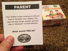 The helpful mother-in-law...What would YOU do? FACE to FACE Kids Edition. Scenario of the Day. 12-16-14