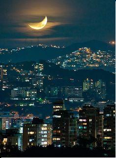 los angeles moon