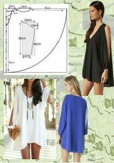 Super Sewing Blouse Easy Free Pattern Ideas - Super Sewing Blouse Easy Free Pattern Ideas, # Source by - Fashion Sewing, Diy Fashion, Ideias Fashion, Dress Fashion, Dress Sewing Patterns, Clothing Patterns, Pattern Sewing, Blouse Pattern Free, Free Pattern