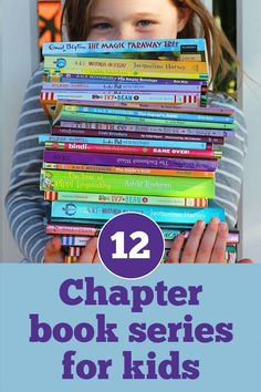 12 Great Chapter Book Series for Young Readers. Great ideas for children starting out with reading chapter books. List covers a wide range of interests.