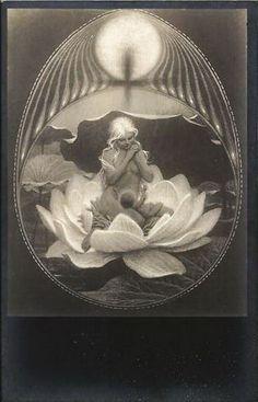 Image result for baby illustrations art nouveau