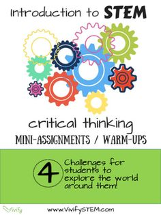 critical thinking scenarios for middle school Editor's note: this is an updated version of our article on critical thinking exercises that really stretch your learners' abilities, with even more activities added real critical thinking exercises seek truth it takes daring and independent thought to stray from conventional thinking and.