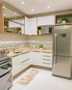 Kitchen Room Design, Modern Kitchen Design, Home Decor Kitchen, Kitchen Interior, Home Kitchens, Home Decor Furniture, Kitchen Furniture, Decor Interior Design, Interior Decorating