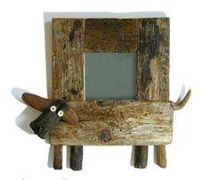 specchio, legno di recupero  Mook