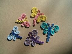 Dragonflys, Paper Quilling