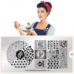 moyou Nail Art design Image Plates-pro collection Cookbook 03
