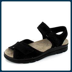Aco Sandalette Pam 02 Größe 37, Farbe: schwarz - Sandalen für frauen (*Partner-Link)