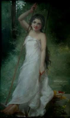 Oil painting by synoj sivan