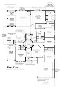 Floor Plans Texas Country Home On Toll Brothers Homes Floor Plans