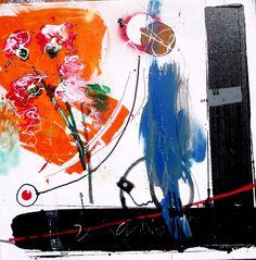 Gervásio Duas barras pretas  2014 Acrylic x Canvas 100 cm x 100 cm  #Art #Artist #Gervásio #Artworks #saomamede #Gallery #Color #Paintings #SãoMamedeArtGallery