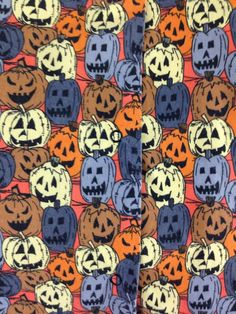 Fun Scrub for Hallween Time size XL with jack-o-lantern pumpkins