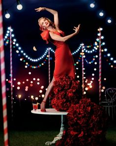 Uma Thurman Stars in the 2014 Campari Calendar