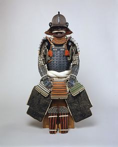 Bamen Tomotsugu (Japanese, active 18th century). Armor of the Gusoku type, 18th century. The Metropolitan Museum of Art, New York. Gift of Etsuko O. Morris and John H. Morris Jr., in memory of Dr. Frederick M. Pedersen, 2001 (2001.642)  #mustache #movember