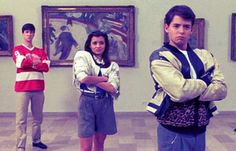 Ferris Buller's day off: spend a day recreating the movie, spending the day like Ferris did.