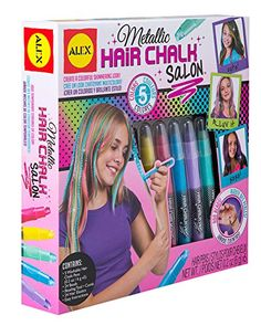 ALEX Toys Spa Metallic Hair Chalk Salon