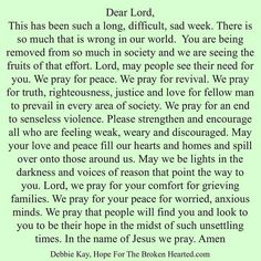 WE PRAY FOR PEACE.AMEN... MILDRED WILLIAMS