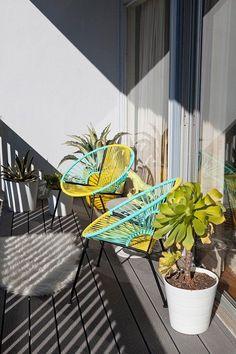 素敵な海外のベランダ11 の画像|海外インテリアに学ぶおしゃれな部屋と色「ユメヲカタチニ」