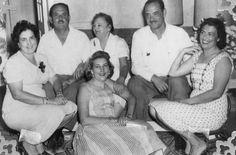 A Cuban Family 1950s. From my Big Fat Cuban Family site