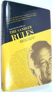 The Sandler Rules, one of the best sales book I have ever read. To read over and over again. $17,34
