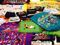 Artesania Textil de Santa Cruz en la Region del Lago de Pátzcuaro.