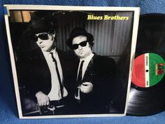 RARE Vintage The Blues Brothers  Briefcase Full by sweetleafvinyl