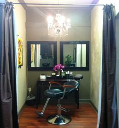 The most elegant waxing station you'll ever encounter