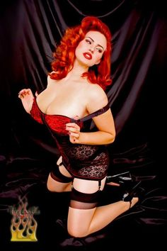Gia Genevieve- Proof that curvy girls can be as hot or hotter than skinny girls. For my scrappy days