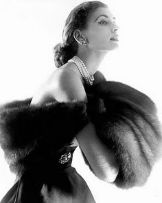 Horst P  Horst - A striking shot of Suzy Parker.