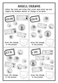 australian money activity worksheets australian money money activities and worksheets. Black Bedroom Furniture Sets. Home Design Ideas