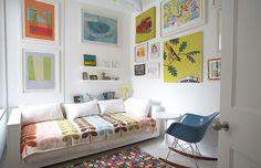 arquitrecos - blog de decoração: Quarto de crianças - Cama na parede