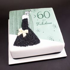 A fabulous 60th Birthday Cake | Crumbs & Doilies