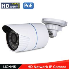 Metal Waterproof 1080p Ip Camera 4pcs White Light Led Hd Security Indoor And Outdoor Cctv Camera 6mm Lens Complete In Specifications Video Surveillance Independent Heanworld H.264