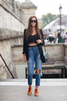 Show off your bralette! http://chezagnes.blogspot.com/2016/07/show-the-bralette.html #fashion #streetstyle #moda #bralette