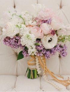アネモネ ライラック バラ ブーケ 小花 anemone lilac rose bouquetphoto:06