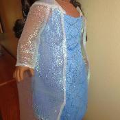 Elsa Dress and Cape - via @Craftsy cost 1.00