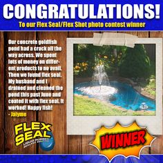 Congratulations Jaiyme, the 1st of 3 winners of the 'How do you Flex Seal Flex Shot' photo contest!  Her photo entry received 214 votes, the most votes of any entrant, and has been crowned our winner!  Thanks to everyone who participated and helped make this contest a success! Stay tuned for our next contest in October!    In case you missed it, you can check out the contest here:  https://flexseal.wishpond.com/photo-contest/